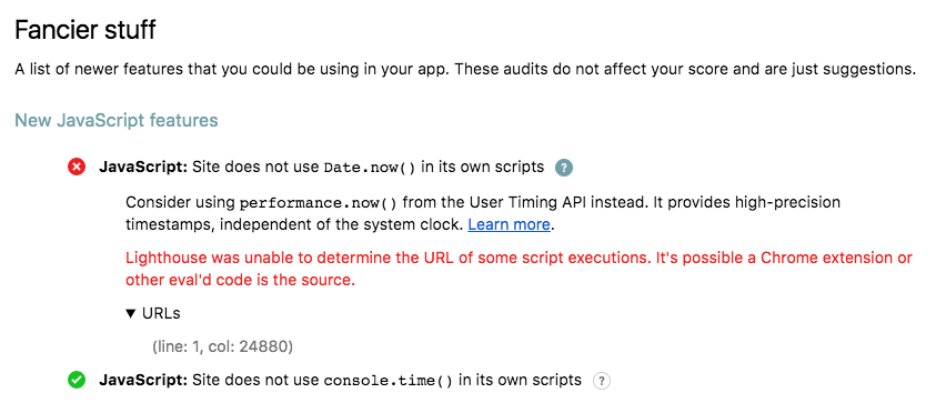 Site does not use Date.now() in its own scripts